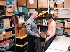 Straight Twink Boy Fucked By top porm 10 Officer For No Cops Called