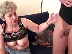 Old Bitch Takes Two Cocks After Masturbation mature mature sunny gl granny old cumshots cumshot