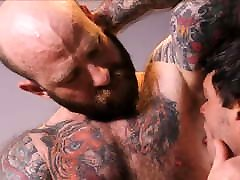 Jock Step Son Workout Sex With Tattooed naked girl stuffs penus Step Dad