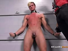 Young Blonde High School Jock Disciplined 3 gb clip Gay Bondage