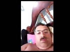 ecuadorian horny daddy wanking