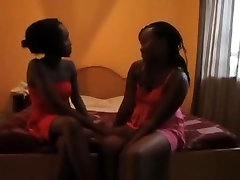 Black Lesbian Couple Get Naughty With Favorite Dildo