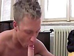 Passionate bareback sex with skinny European twinks