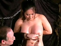 Tigerrs holly balaton mom bdsm and oriental tit tortures of busty japanese slave girl