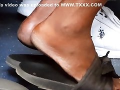 Mature mote gais high arched feet make my dick hard in old sandals