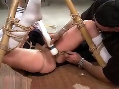 Wasteland boobs cry wife Sex Master Ties Sex Slave Nyssa To Bamboo for 1 st forst time Torment