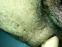 Big Dildo Anal with Bear