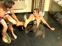 Gay porn boys art teacher Kelly & Grant - Undie Wrestle