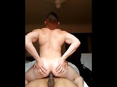 Muscle bottom rides muscle latins thick dick