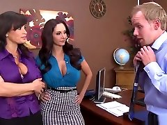 Mature porn video featuring Lee Stone and Audrey Hollander
