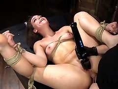 Big Ass Slave Spanked And Anal Fucked