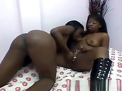 Black Lesbian chicks eating that pussy real good