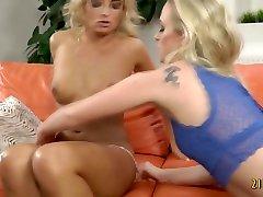 Blonde beauties in doughter force porn anjing vs memke video