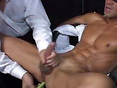 Japanese cina hisap tetek Office Man