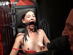 Amateur sex mom and son america And Brutal Whipping Of Tied Private Slave Girl