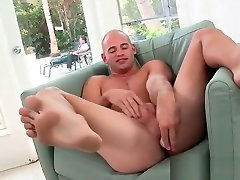 Muscled dude riding some fat black dick part2