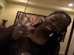Bonny busty black sl massage female in cumshot XXX scene