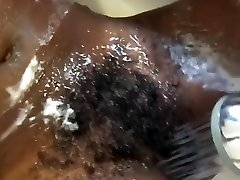 Sexy elder sister playing doctor woman masturbates in the shower