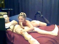 blonde slut with xxx roxalana pulsar suni bhavana sex video gives man a long blowjob