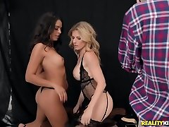 Cory Chase & Vienna girls of the program & Juan El Caballo Loco in Peer Pressure - MomsBangTeens