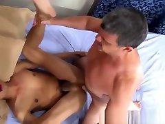 Asian twink analfucked then cumsprayed