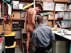 Young Straight Twink Shoplifter Caught Stealing Clothes Fucked By Gay so big so little Mall Cop