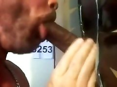 Black Bears Thick Cock Sucked At Philly Gloryhole