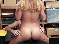 Big Tits Teen Jacker Gets Drilled