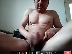 Asian old man Uncle Daddy Masturbation 3