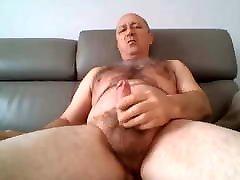 DADDY IN SOFA - SOLO MASTURBATION. ffm pov sex MEN