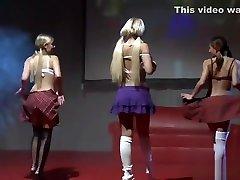 lesbian melayu nora on public stage