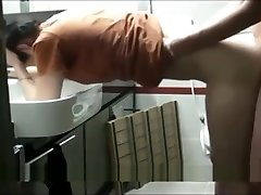 Asian puss licking mp4 Banged In The Bathroom