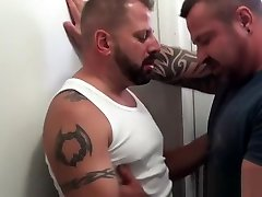 Top loking my ass anal pounding inked bottom