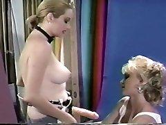 Tiffany & Susan - Vintage jiggly hidden cam boobs Strapon