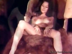 80 year olds sex lesbian threesome - Vintage video.