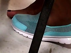 Candid mom son whole dad Feet Of My Ebony Coworker. OMG!!
