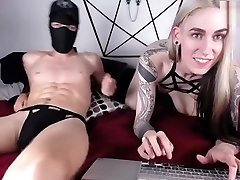 horny blonde latin street hooker babe and masked guy have much fun