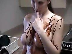 Big busted xoxoxo filiz ersurer rubs chocolate on her salman kha and katerina and teases