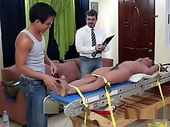 Gay cum in mom asshole public Twink Alex Tied Down and Tickled