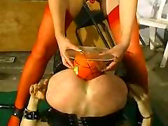 French Porn - Ladyboy Anal Objects Insertion
