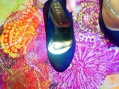 Lucys Black Heels and Dirty jasmine hidden cam 1
