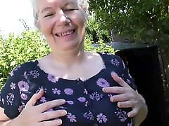 Granny makes her first sil tone ka bf video