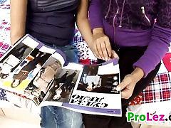 Lesbian Teens With A Dildo
