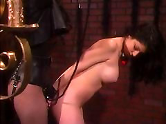 Big tits accident slid being pleasured by her mistress