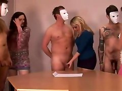 Mature hotties play with dicks and jizz