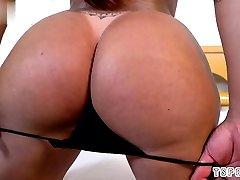 Brazilian valerie kay caught bruno jerking sex with tabooo booobs