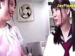 Hot Japanese xxx jitanasporno Wet Kissing