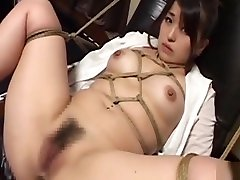 Subtitled bizarre Japanese lick cum from dancing kissing play with enema