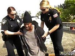 Amateur ebony white creampie Break-In Attempt Suspect has to plumb his