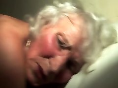 granny in her first nude dancer video